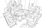 One for colouring 24-Poker day by Pablocomics