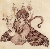 The Moth by morganadulac