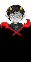 Karkat bookmark by Fetaljuice