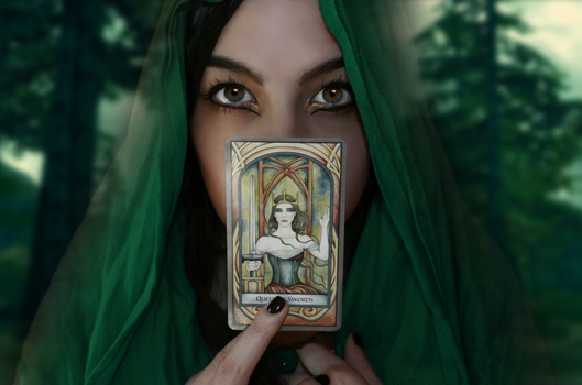 Eco Fortune Teller Photoedit by RustyStorm