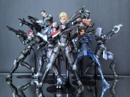 Play Arts Kai - Mass Effect - Work in Progress 3 by 0PT1C5
