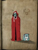 Mumm Ra and Mutt by darrenrawlings