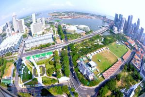 Singapore F1 circuit by jeffzz111