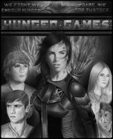 Hunger games poster by MShah123