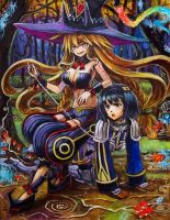 The_Witch_And_The_Hundred_Knights by tafuto001