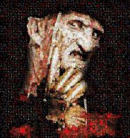 Freddy Krueger Photo Mosaic by timmywheeler
