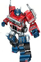 Movie concept Optimus Prime by Prowler974