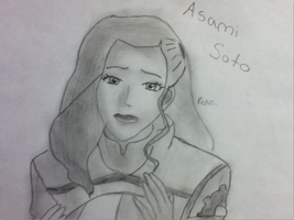Asami Soto (shaded) by Redax3
