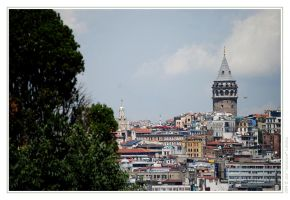 Galata Tower by JONZICOW