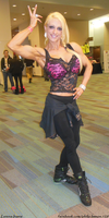 Lorena Inarra At The 2014 Arnold by zenx007
