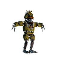 Withered Nightmare Chica by Titano1975