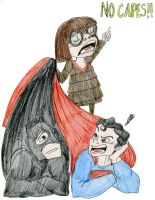No capes!!! by DitaDiPolvere