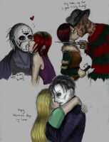 3 Kisses for the Horror Kings by TyrineCarver