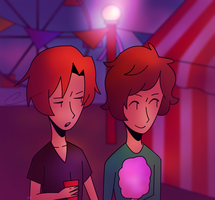 Red Cup, Pink Cotton Candy by DoveShadow56