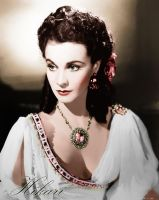 Vivien Leigh ~ Haunting Eyes by natsafan