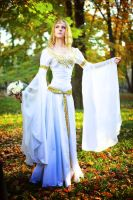 The Elven wedding dress by Ainaven