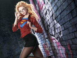 SEXY SUPERGIRL by KnightAngel1