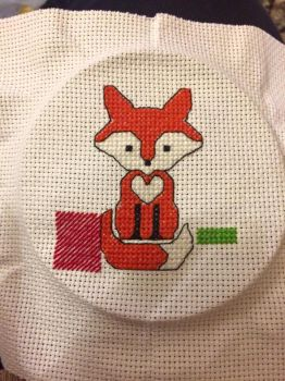 [WIP] The Gifting Fox by megs2606