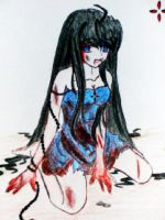 Wounded girl by ImoExploder007