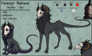 .: Varamyr Nalewar - Hellhound :. by Barguest