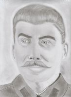 The Dictator, Stalin by darkervapid