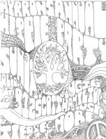 Hippie Party Poster by ayrron