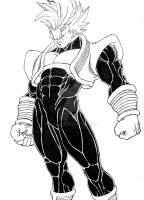 Baby Vegeta commission by artcoms