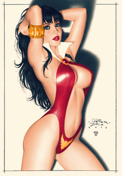 Vampirella by arissuparmanart