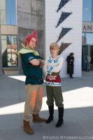 Groose and Link by Stormfalcon