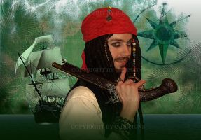 Jack Sparrow - Pirates of the Caribbean by Drawer88
