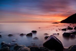 shoalstone sunrise by scott-leeson