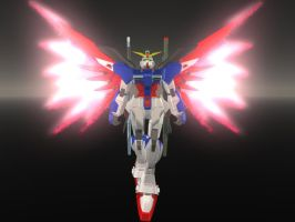 Destiny Gundam by maverick8