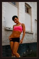 Ina_pink fitness 2 by DragonWulf12
