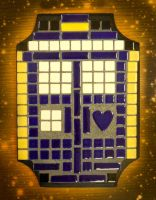 Heart of the TARDIS - Mosaic by iKnowItAllStudios