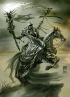 Death, The Grim Rider by scarypet