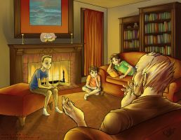 Storytime by the Fire by kina