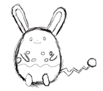 Pure the Azumarill (Sketch) by Shaymin303