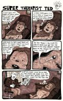 Super Therapist Ted: Ewok by oh-the-humanatee
