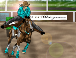 ..:: WWF October: Chico Barrel Racing ::.. by Starcather9