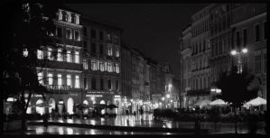 Cracow by night 2 by kazzdavore