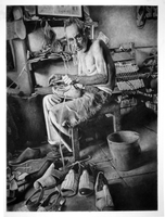 Charcoal Reversal: Shoemaker by silverava