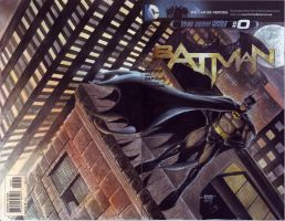 Batman on Rooftop by edtadeo