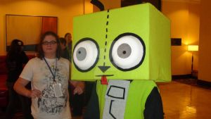 InvaderCon - GIR COSTUME by haloflooder