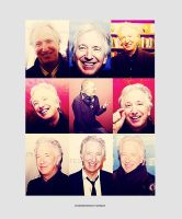 Smiling Rickman by MarySeverus