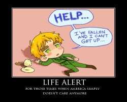 Life Alert Demotivational Poster by ChocolateLover482