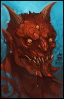 Hungry, Hungry Oni by BPezzillo