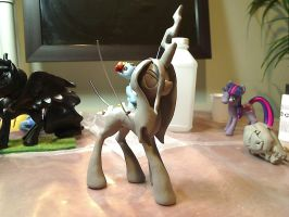 :WiP: Queen Chrysalis by dustysculptures
