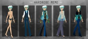 Rc  Wardrobe Meme by eyugho