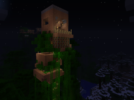 my random trre house by cynderplayer