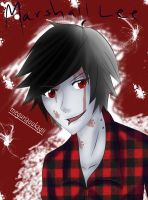 Marshall Lee~Adventure Time by kankrivanbooty